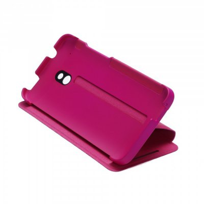 Etui Flip HTC One Mini Double Dip rose