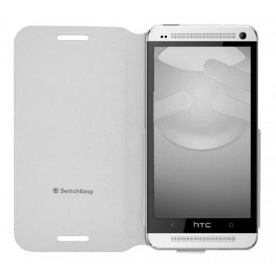 Etui Flip Switch Easy HTC One Snow white