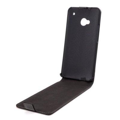 Etui Flip Xqisit Flipcover HTC One noir