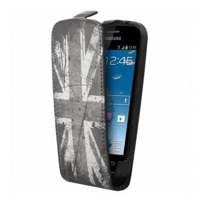 Mocca étui rabat UK pour Samsung Galaxy Trend S7560 / S Duos S7562