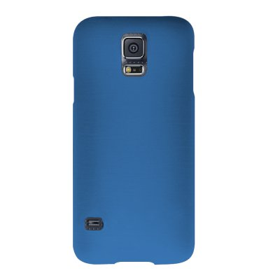 Mocca coque gel frost bleue pour Samsung Galaxy S5 G900
