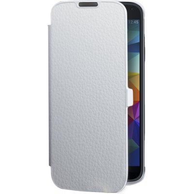 Etui coque folio blanc pour Samsung Galaxy S5 G900