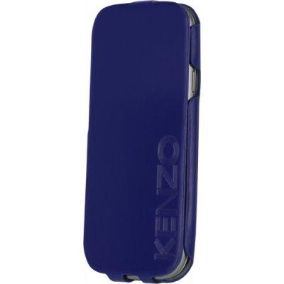 Etui coque Kenzo bleu glossy pour Samsung Galaxy S3 I9300