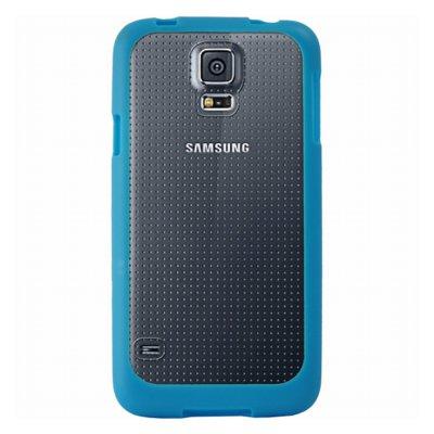 Mocca coque bimatière bleue pour Samsung Galaxy S5 G900