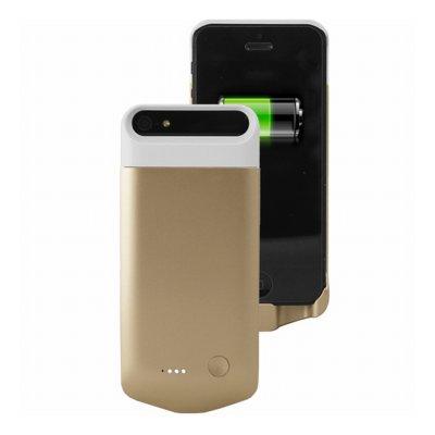 Coque batterie 2200 mAh dorée sous licence MFI agrée Apple pour iPhone 5 / 5S