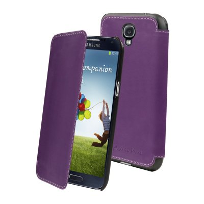 ETUI FOLIO WINNER VIOLET MADE IN PARIS GALAXY S4