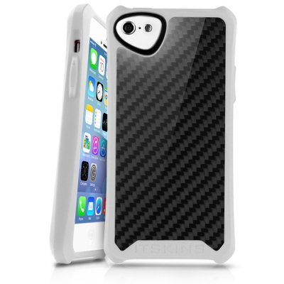 ITSKINS ATOM SHEEN CARBON BLANC APPLE IPHONE 5C