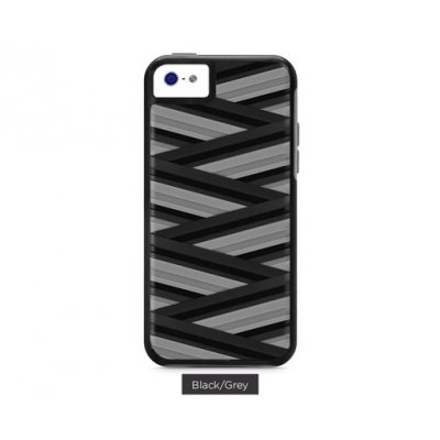 XDORIA COQUE PROTECTION RAPT NOIRE ET GRISE APPLE IPHONE 5C