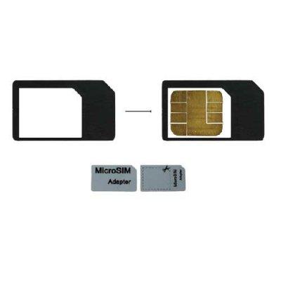 Adaptateur micro-sim sim pour iPad et iPhone 4/4S