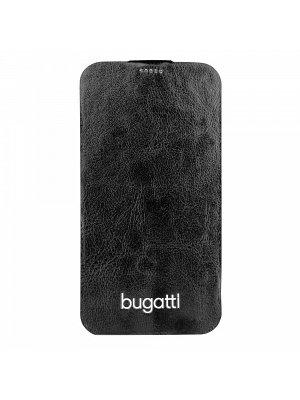 Etui Flip bugatti Geneva Samsung Galaxy S5 noir