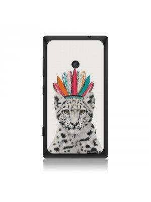 Coque léopard indien pour Nokia Lumia 520