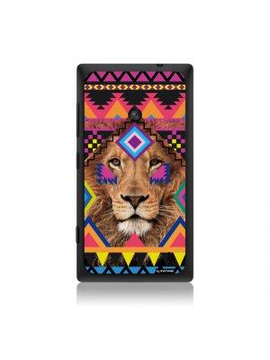 Coque lion azteque pour Nokia Lumia 520