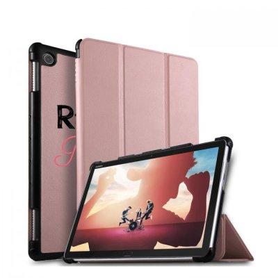 Etui Huawei MediaPad T5 10.1 pouces Raleuse mais princesse Ecriture Motif Tendance