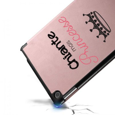 Etui Huawei MediaPad T5 10.1 pouces Chiante mais princesse Ecriture Motif Tendance