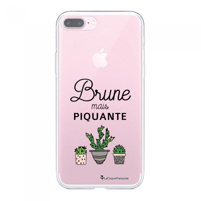 Coque 360 iPhone 7 Plus / 8 Plus 360 intégrale transparente Brune mais piquante Ecriture Tendance Design La Coque Francaise
