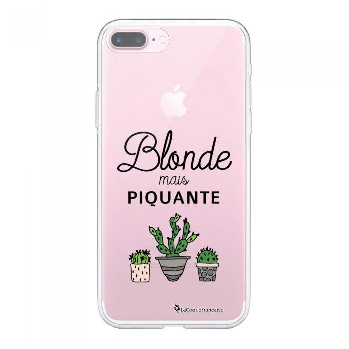 Coque 360 iPhone 7 Plus / 8 Plus 360 intégrale transparente Blonde mais piquante Ecriture Tendance Design La Coque Francaise