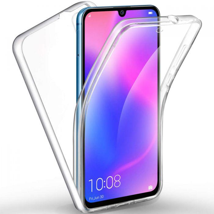 Coque Huawei Y5 360° intégrale protection avant arrière silicone transparente
