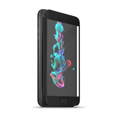 Vitre iPhone XS - noir en Verre trempé 5D Protection écran