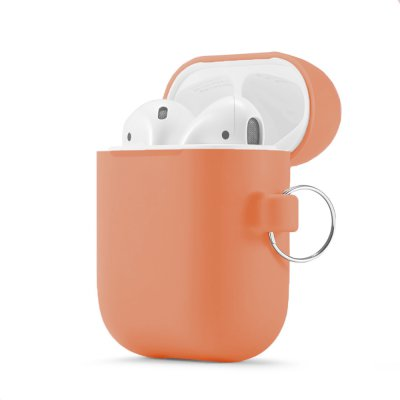 Housse de protection Airpods Silicone Liquide Corail