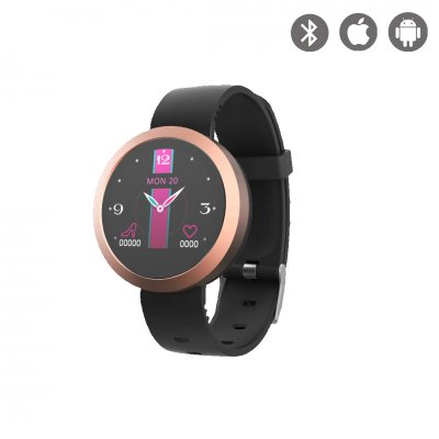 Montre connectée Multisport Rose Gold