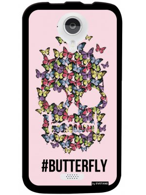 Coque butterfly pour Wiko Cink Five