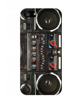 Coque ghetto blaster pour iPhone 4 / 4S