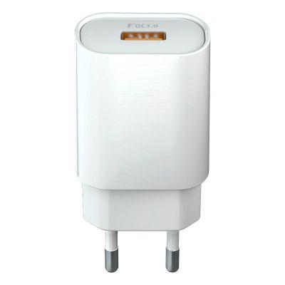 Chargeur secteur ultra-rapide 18W 1 Port USB