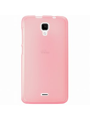 Coque TPU rose pour Wiko Bloom