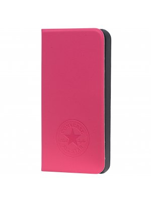Converse étui folio pu rose pour apple iphone 5 5s