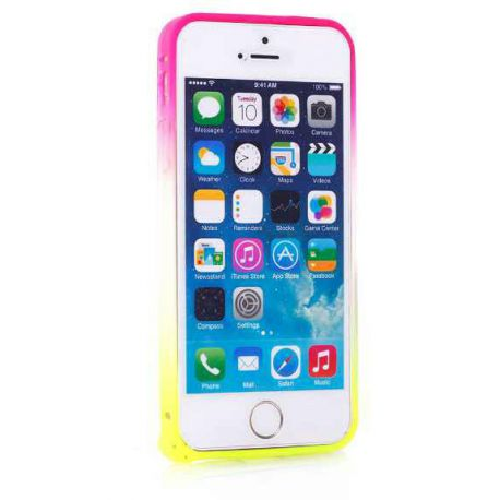 coque iphone 7 rose fluo