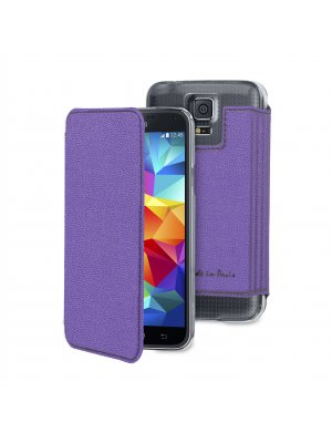 Muvit Made In Paris Crystal Folio Samsung Galaxy S5 Mini Violet**