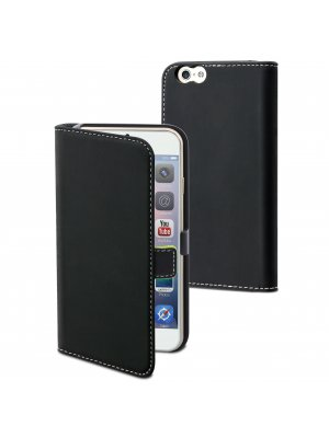 Etui Slim Folio Noir Pour Apple Iphone 6+/6s+**