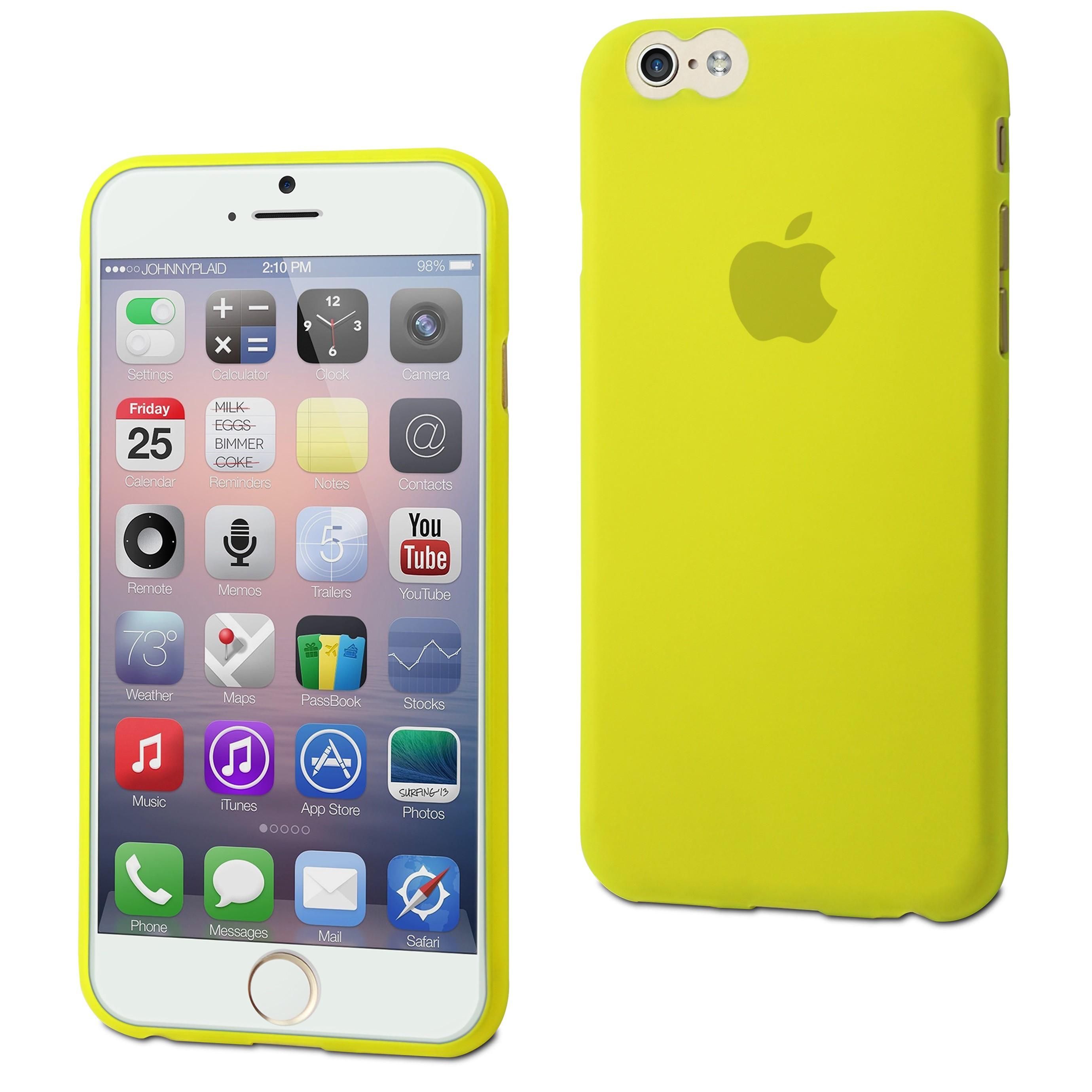 MUVIT Coque Thingel Vert Citron Apple iPhone 6