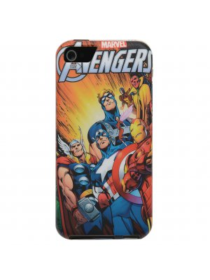 Marvel Coque Souple Iphone 5C Avengers Team Title