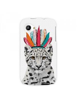 Coque leopard indien pour Wiko Cink Slim