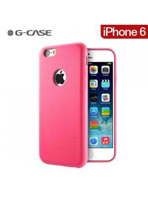 G-Case coque Noble Series Cuir Rose pour iPhone 6 4.7