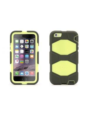 Survivor coque All-Terrain citron et gris pour iPhone 6 Plus