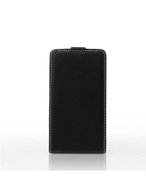 Etui clapet noir pour Samsung Galaxy Core Plus