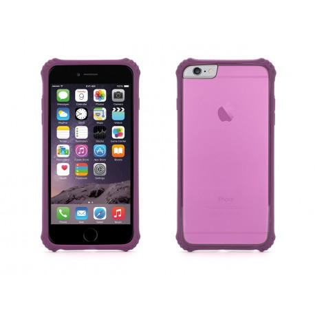 griffin coque survivor core clear lila pour apple iphone iphone 6 plus
