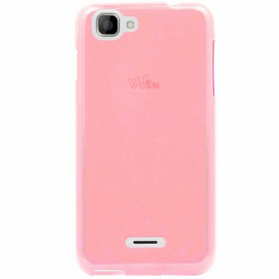 Mocca coque gel rose pour Wiko Kite