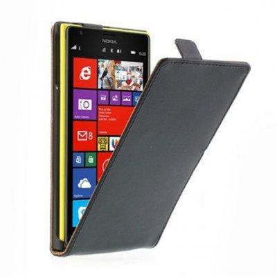 Etui livre noir pour Lumia 1520