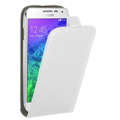 Etui clapet blanc pour Samsung Galaxy Alpha