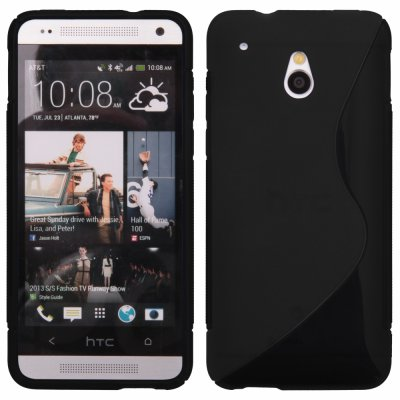 Coque silicone S Line noir pour HTC ONE MINI (M4)