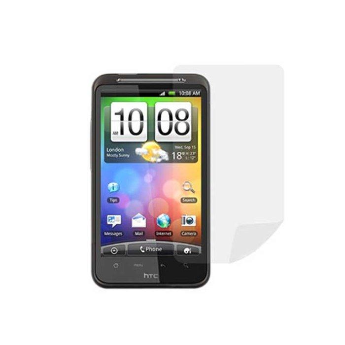 2 Films protege ecran pour smartphone HTC Desire HD avec chiffonnette
