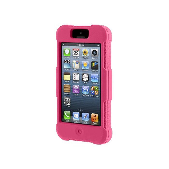 Coque en silicone Griffin Survivor rose pour iPhone 5/5S