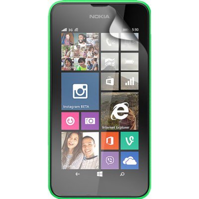 Lot de 2 protège-écrans transparents pour Nokia Lumia 530