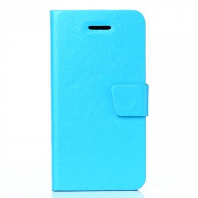 Etui livre bleu pour Apple iPhone 6 Plus 5.5''