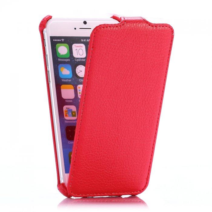 Etui clapet rouge pour Apple iPhone 6 et 6S