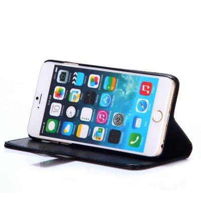 Etui livre noir pour Apple iPhone 6 Plus 5.5''