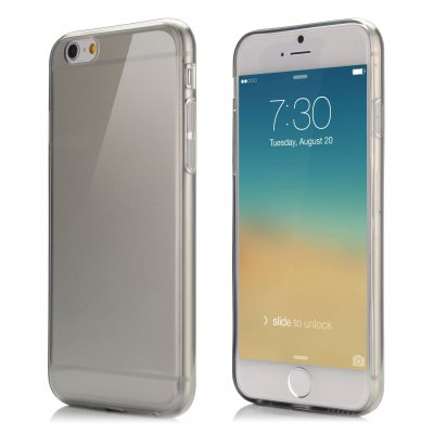 Coque silicone transparente ultra-slim pour Apple iPhone 6 4.7''
